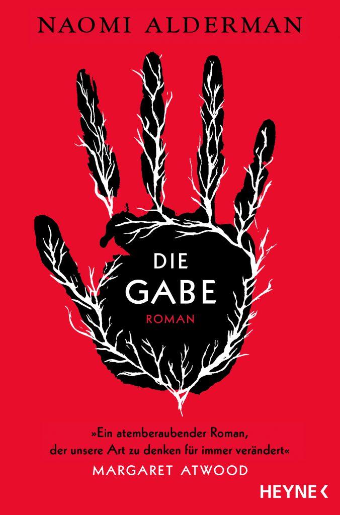 Buchcover des Romans Die Gabe von Naomi Alderman