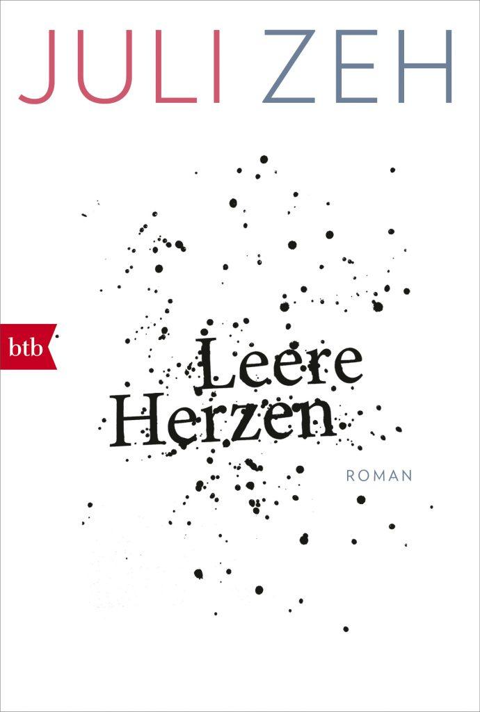 Buchcover des Romans Leere Herzen von Juli Zeh