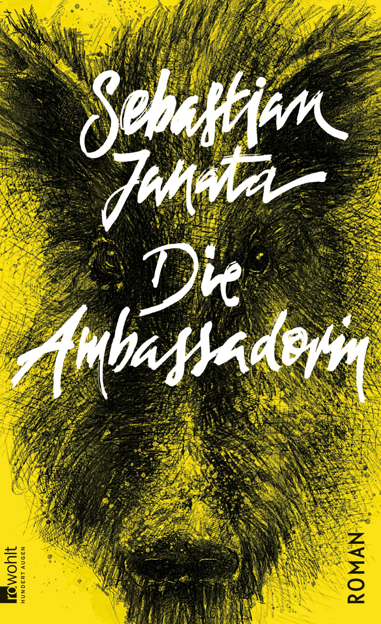 Buchcover des Romans Die Ambassadorin von Sebastian Janata.